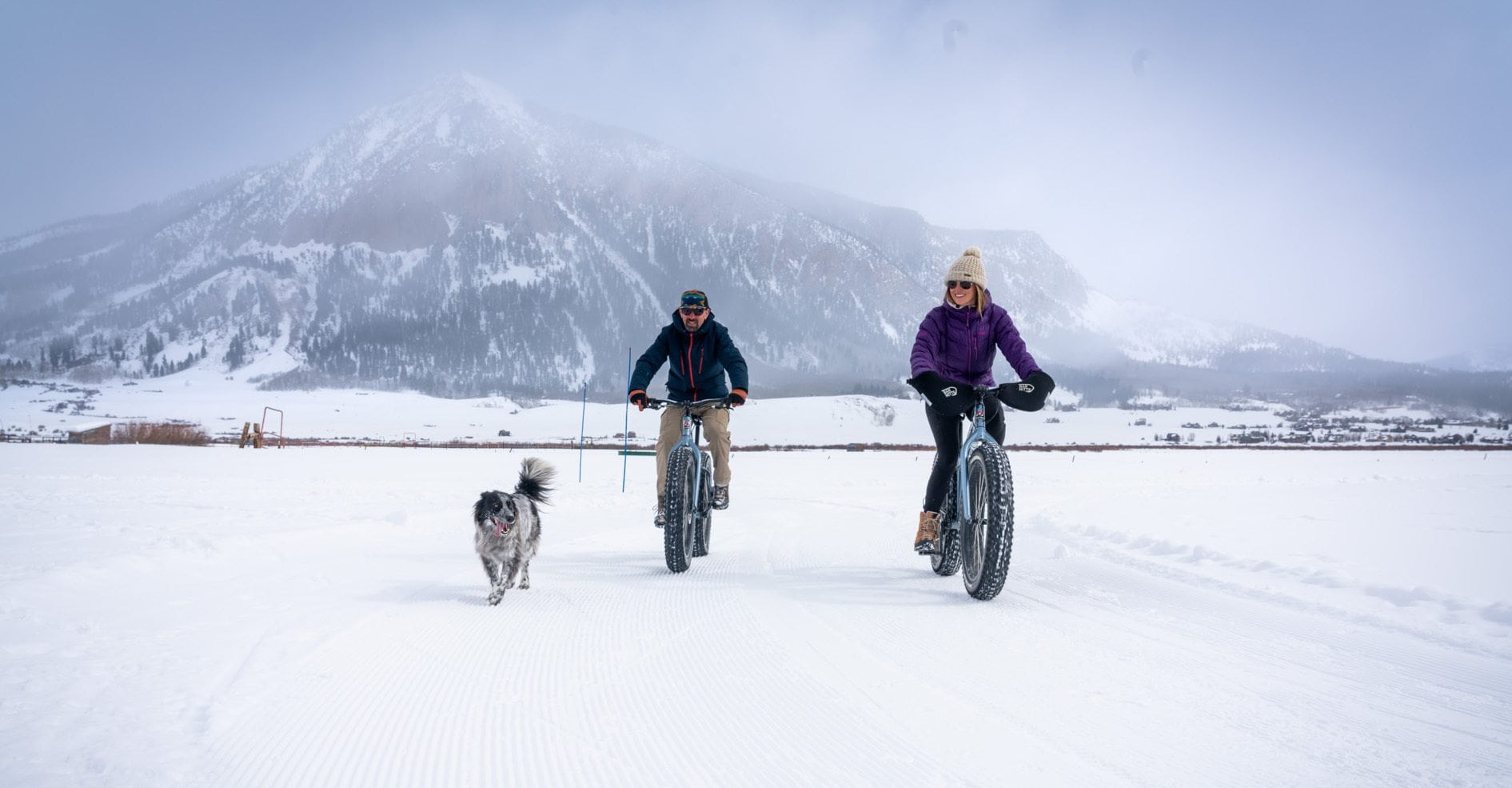 Fat Biking in Crested Butte // Enjoy the winter wonderland of Crested Butte Colorado for skiing, biking, good food, and more. Check out this complete Crested Butte winter travel guide!
