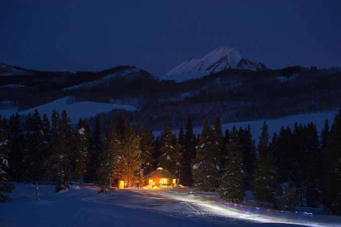 Magic Meadows Backcountry Yurt // Enjoy the winter wonderland of Crested Butte Colorado for skiing, biking, good food, and more. Check out this complete Crested Butte winter travel guide!