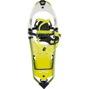 Atlas Elektra Apex-BC Snowshoes // Learn how to snowshoe with our snowshoeing 101 guide. Read tips on how to find trails, buy snowshoeing gear, and other important safety tips.