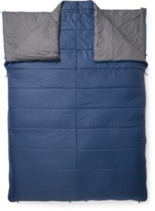 Exped MegaSleep Duo 25/40 // Here are the best double sleeping bags of 2020. Get cozy in these warm and comfortable 2-person sleeping bags ideal for camping or backpacking.