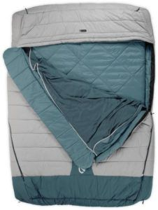 Nemo Jazz Luxury Duo Double Sleeping Bag // Here are the best double sleeping bags of 2020. Get cozy with these warm, comfortable 2-person sleeping bags ideal for camping, backpacking, and the budget-adventurer.