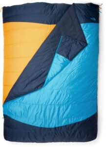 North Face Dolomite Duo / Get cozy with the best double sleeping bags including warm, comfortable two person options ideal for camping and backpacking.