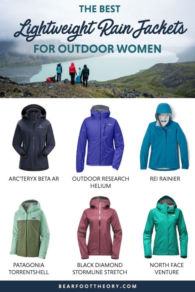 Check out the best rain jackets for women including lightweight options for hiking for every budget and tips on how to choose.