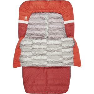 Sierra Designs Backcountry Double Bed // Here are the best double sleeping bags of 2020. Get cozy with these warm, comfortable 2-person sleeping bags ideal for camping, backpacking, and the budget-adventurer.