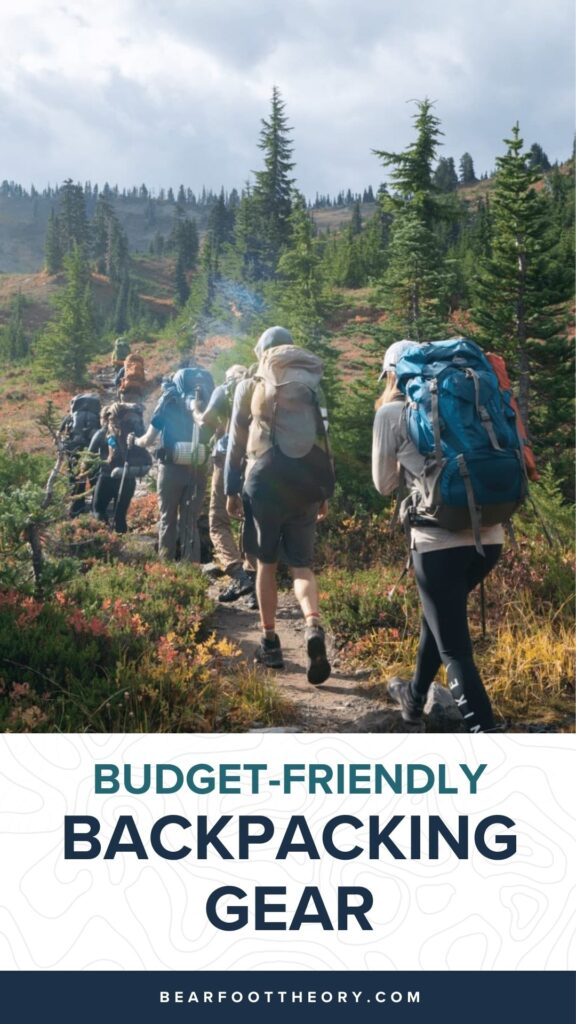 Looking for the budget outdoor gear? Here is the best cheap backpacking gear and my top tips for buying quality, inexpensive gear.