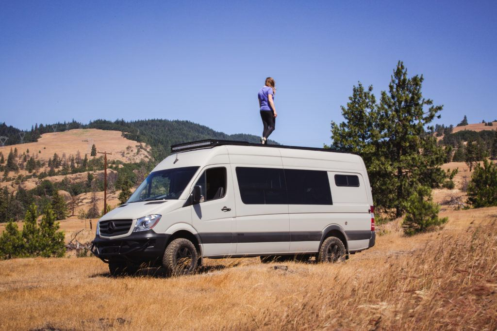 Compare the different vans for van life. Learn the difference of the Sprinter vs Transit vs Promaster vs Ford Econoline and more. Also, dive into details like 4x4 & length.