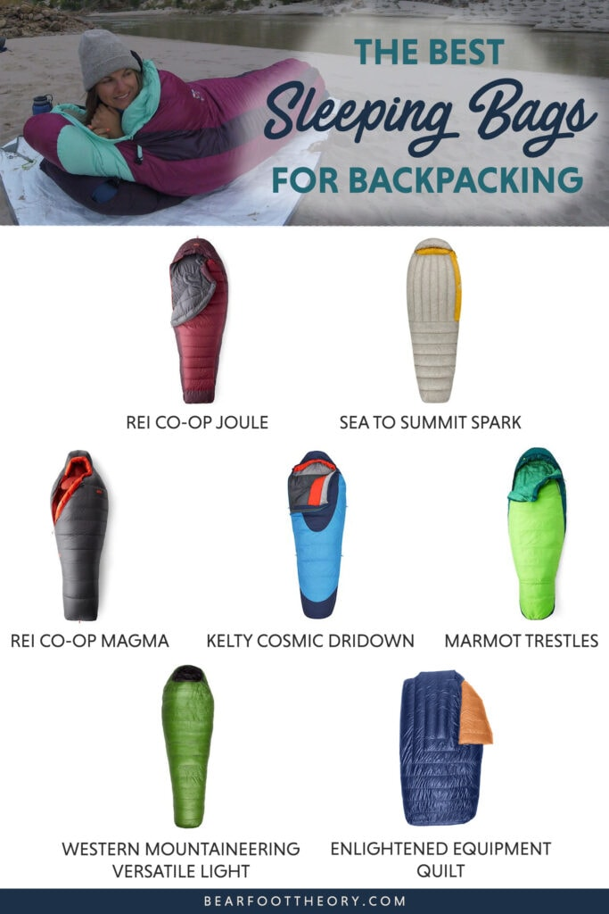 Here are the best sleeping bags for backpacking including lightweight, warm, comfortable options for all budgets.