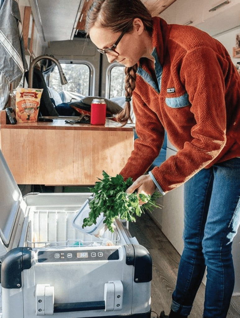 A van kitchen or galley is key for cooking comfortably in your camper van. Learn about options for sinks, refrigerators, stoves, countertops, and ovens.