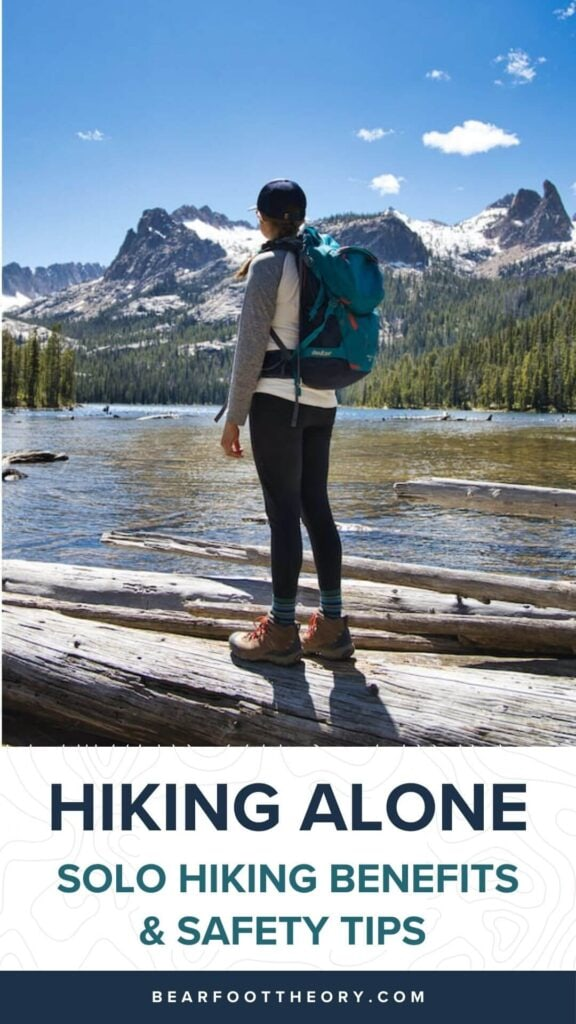 Have you let your fear of hiking alone keep you indoors? Conquer those fears on your first solo hike with these tips to stay safe & confident.