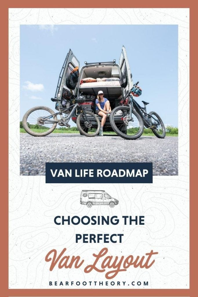 Get advice for planning your camper van conversion layout based on your personal priorities, so you end up with a smart, functional floorplan for van life.