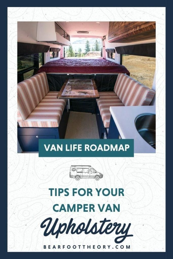 Upholstery is one way to add personality to your van interior. Learn about van upholstery options and considerations including the best materials to use.