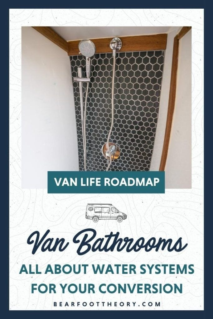 Whether or not to have a full indoor bathroom in your van seems to be one of the most controversial topics in the van conversion world. Some people don't think it's worth the space, while other van lifers say they couldn't live without it. In this lesson, we talk all about van bathrooms and water systems. Whether you want a full indoor bathroom with a shower in your van or if you prefer something simpler, we'll help you decide and will cover different options for water storage, water heaters, showers, toilets, and more for your van.