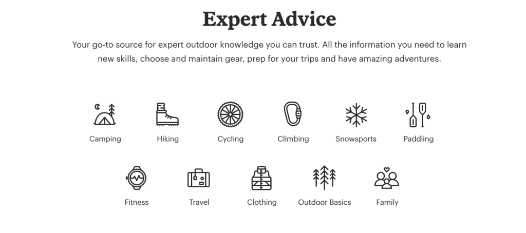 REI Expert Advice is a great place to take your outdoor skills to the next level