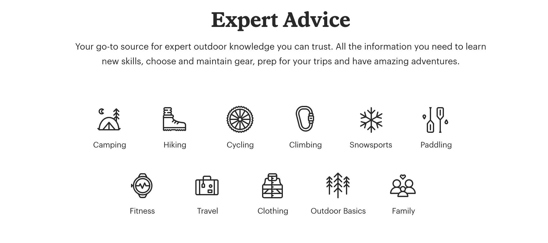 REI Expert Advice