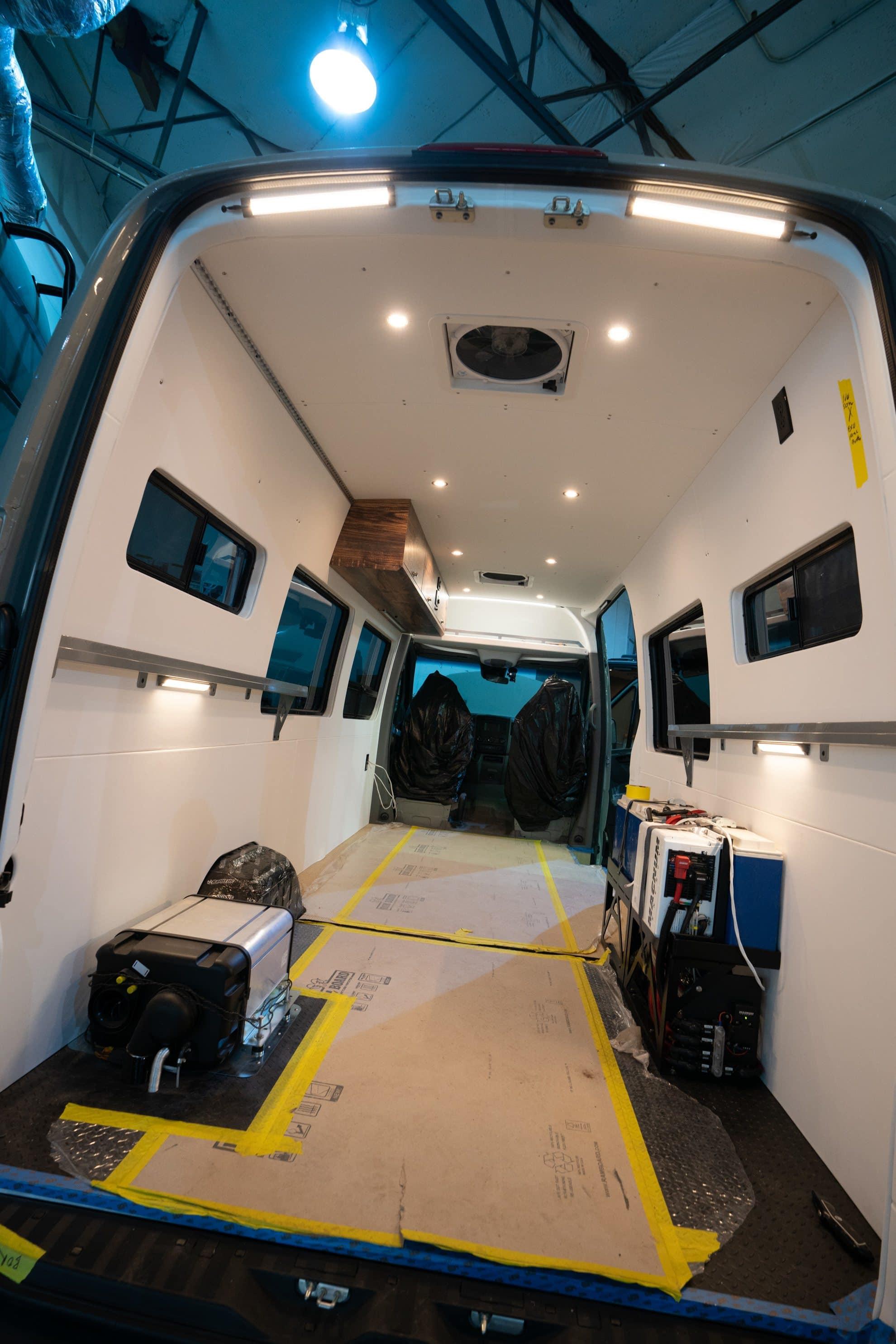 Screening a Camper Van Conversion Company