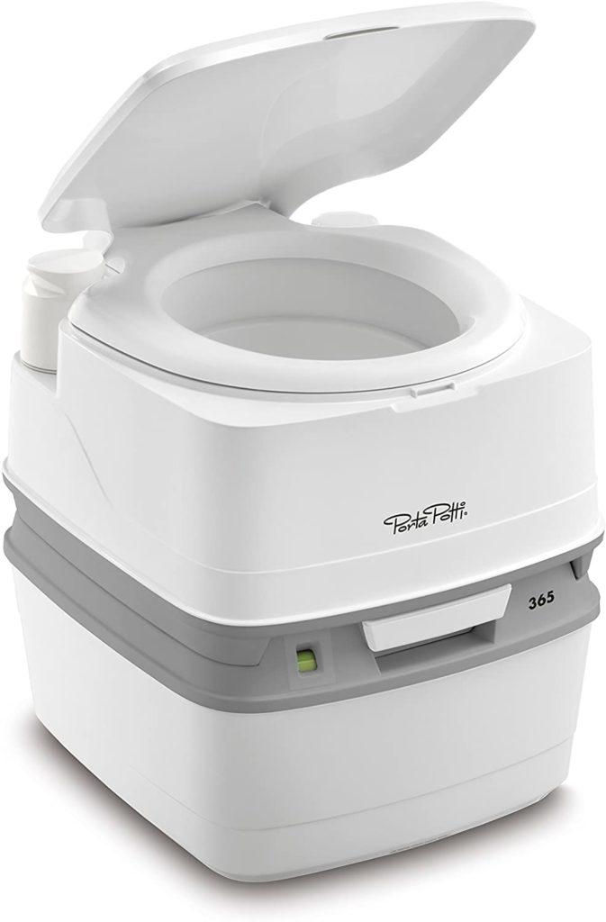 Portable toilet for van life