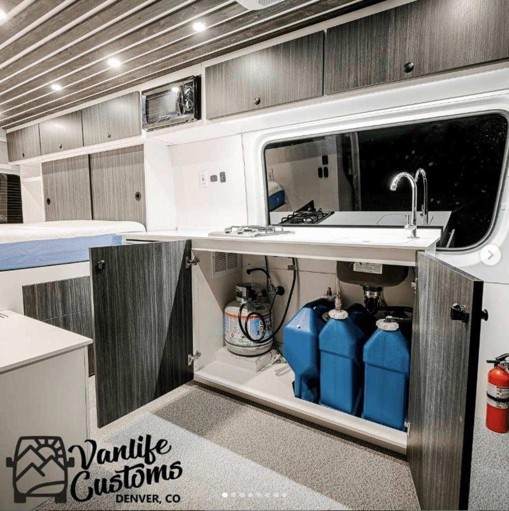 Get the water systems in your van dialed. Learn the pros and cons of a full van bathroom and the details on van toilets, showers, water tanks, heaters, and more.