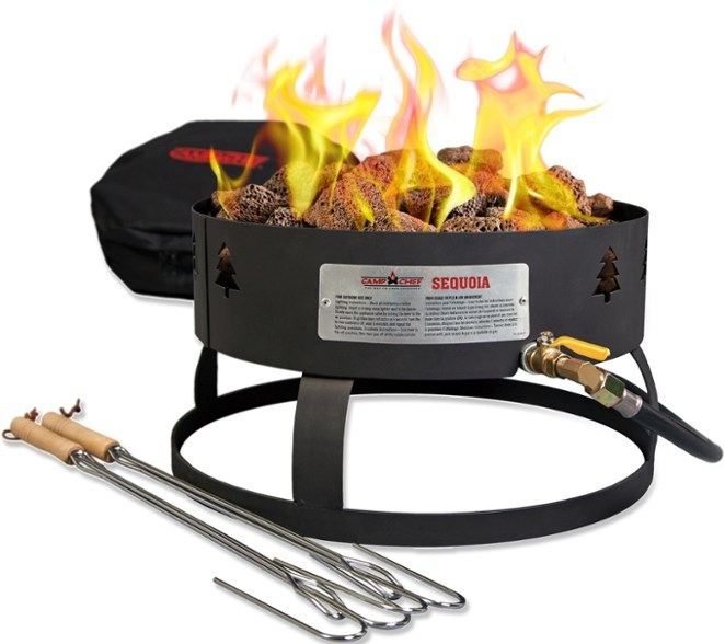 propane fire pit by Camp Chef