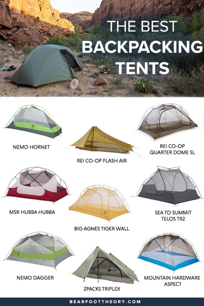 Check out the best backpacking tents and learn what key features to consider when choosing a new lightweight tent for the backcountry.
