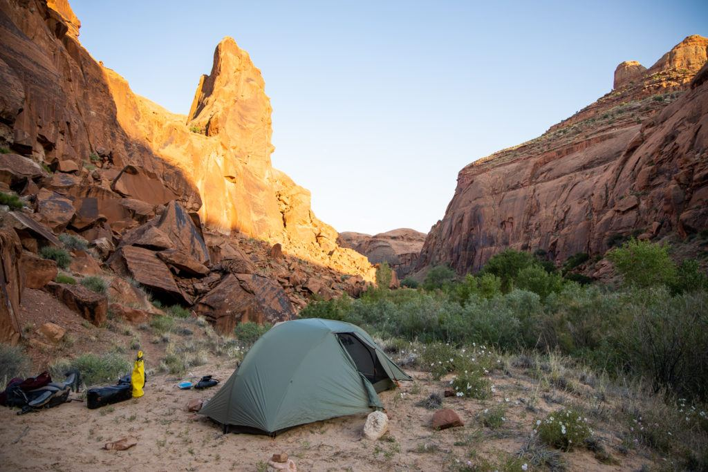 Get my detailed 3-day backpacking checklist that has all of the gear you need for a successful backpacking trip including a tent, sleeping gear, clothing, toiletries, and more.