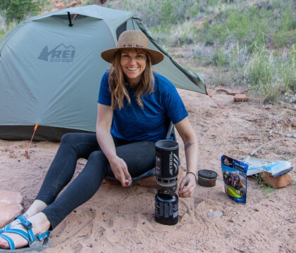 This complete backpacking checklist includes all the lightweight gear you'll need when packing for an overnight trip in the backcountry.