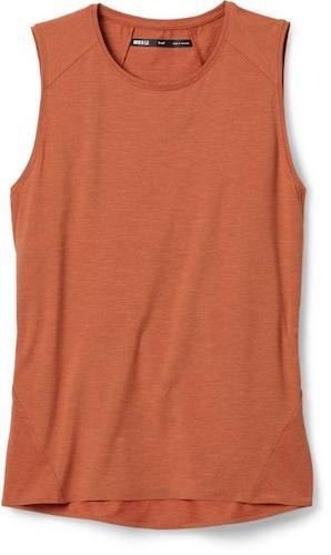 REI Active Pursuits Tank Top is a budget-friendly tank top that is great for hiking.