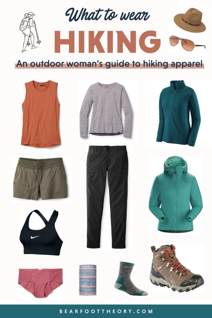 Not sure what to wear hiking? Learn how to dress for both function & comfort on the trail in a variety of conditions with this women's hiking apparel guide.
