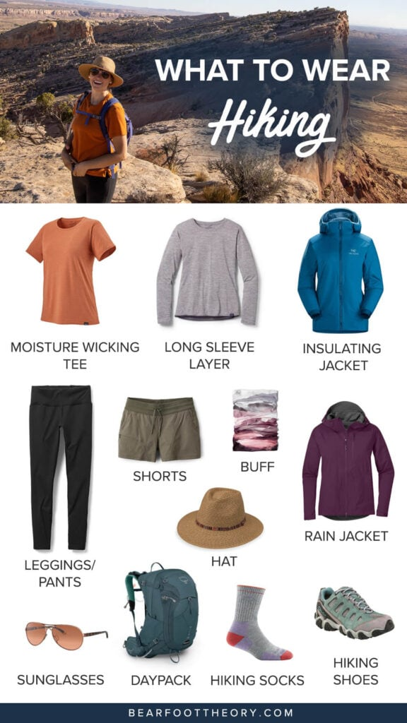 Wondering what to wear hiking? Dress for function & comfort on the trail with this guide to the best clothes and apparel for women.