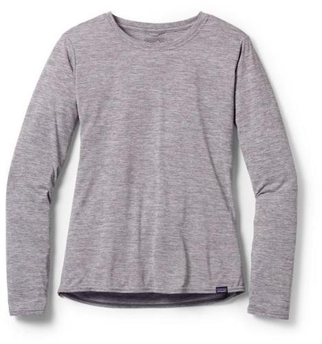 Patagonia Cool Capilene long-sleeve shirt is a great hiking layer that breathes well and protects your skin from the sun.