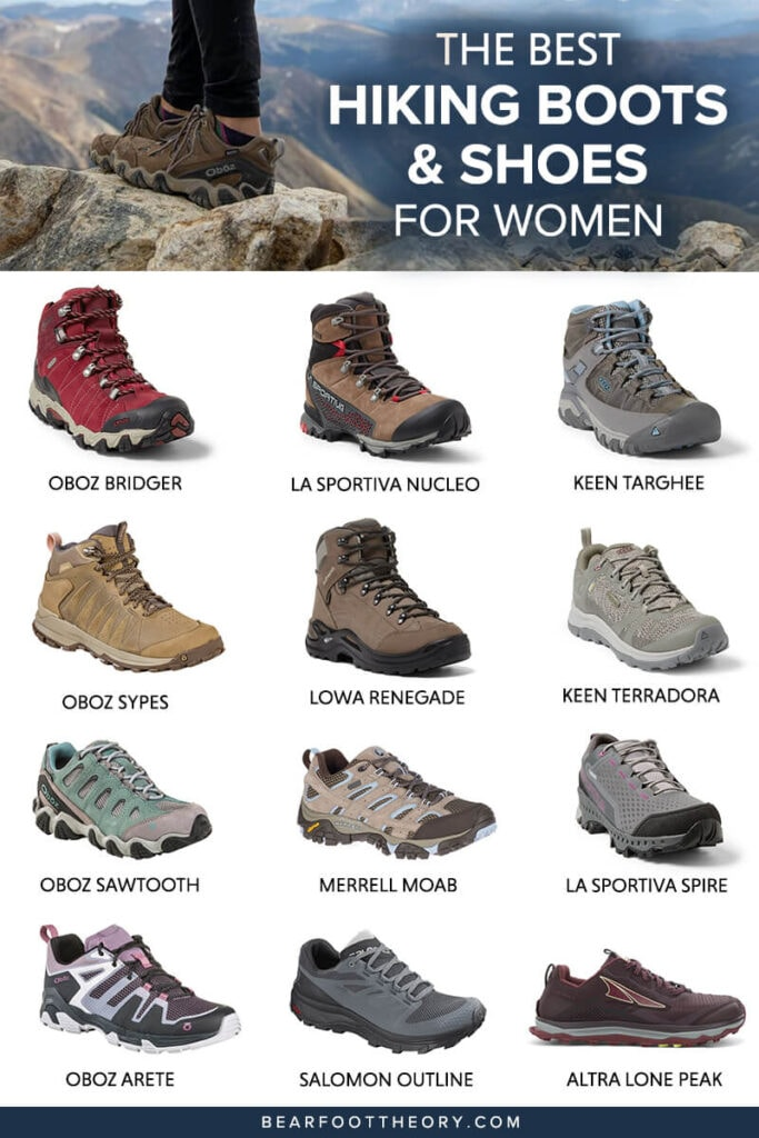Get the scoop on the best women's hiking boots and lightweight hiking shoes and learn how to choose the best hiking boots for you.