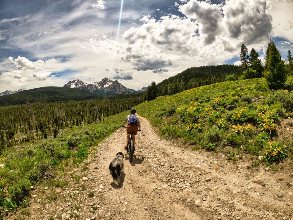 Get an action packed 4-day road trip itinerary for Sun Valley and Stanley Idaho with epic hiking, biking, hot springs, camping, cool mountain towns & more.