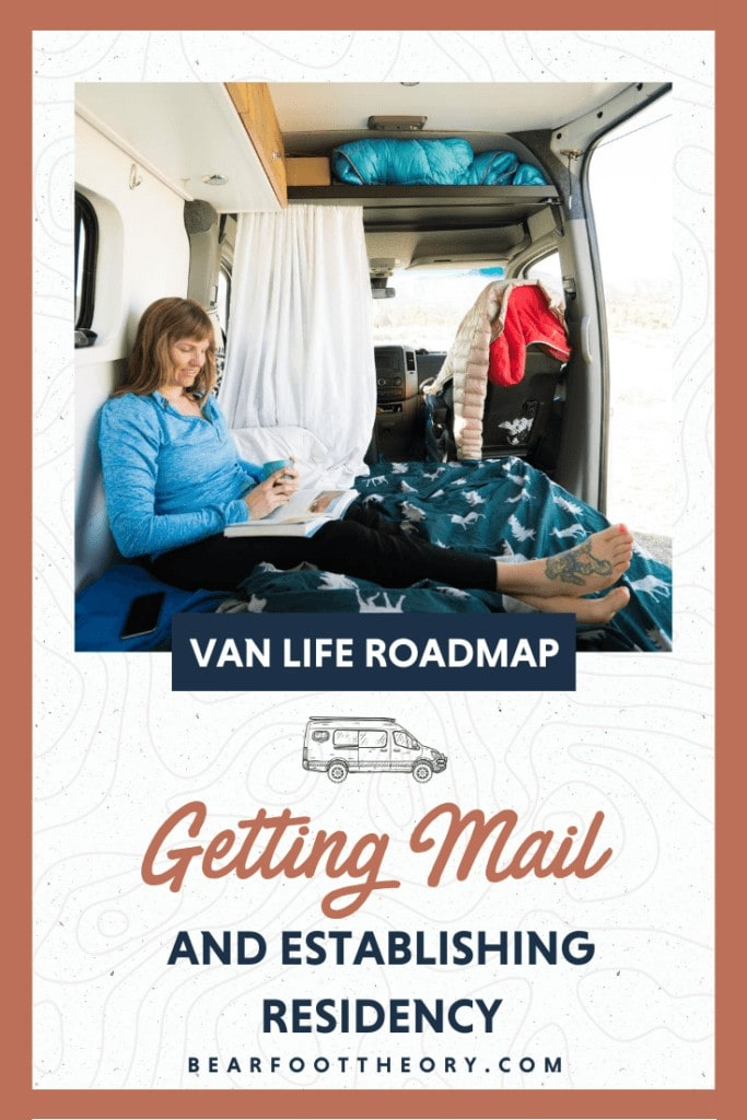 If you plan on living in an van full-time, you may be wondering how to get packages or where to set up your home mailing address. There are some advantages of choosing certain states over others, and in this lesson, we're going to share some tips to help you make a decision.