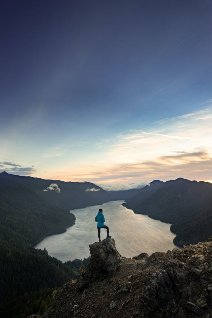 Mount Storm King in Olympic National Park