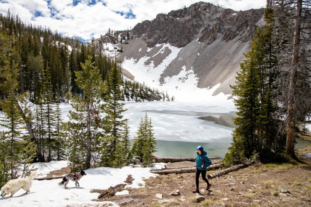 Norton Lake Trail in Sun Valley Idaho