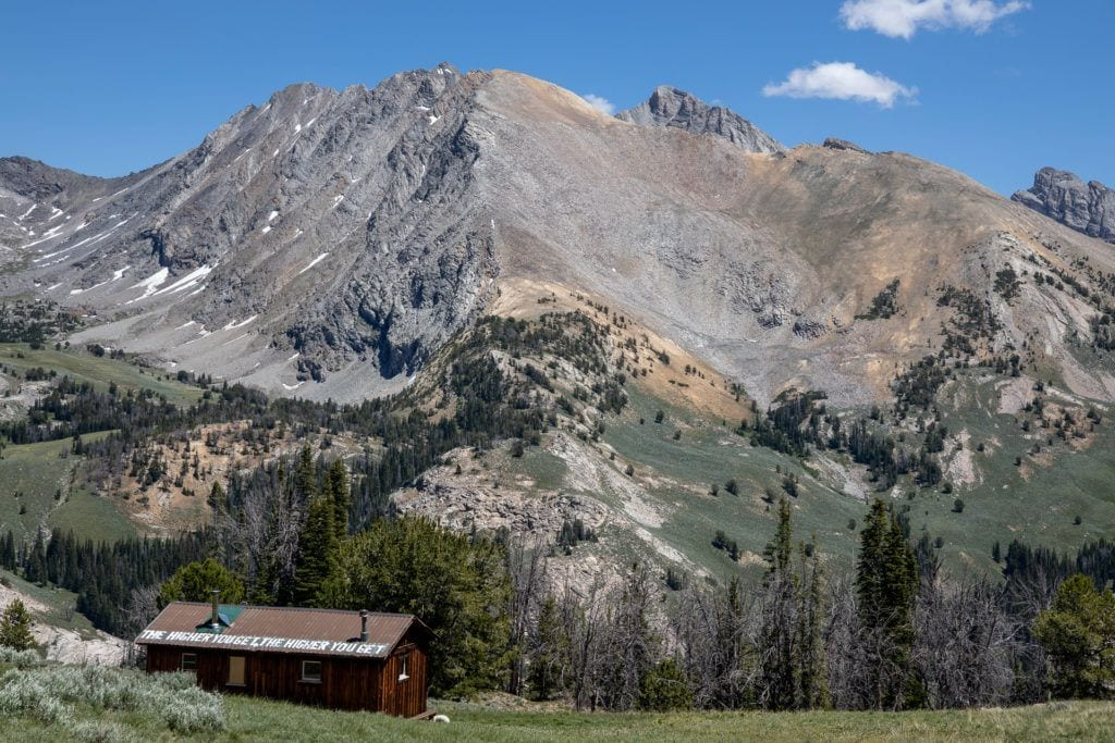 Pioneer Cabin Trail in Sun Valley Idaho