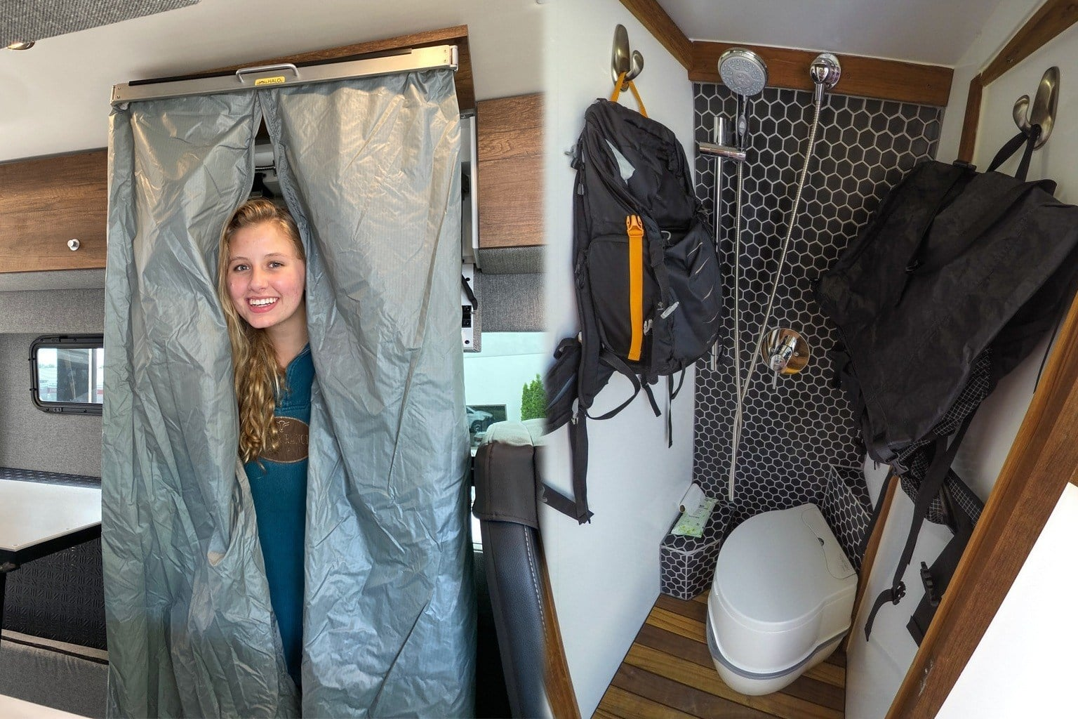 11 Camper Vans with Bathrooms: Toilet & Shower Inspiration for Off-Grid Living
