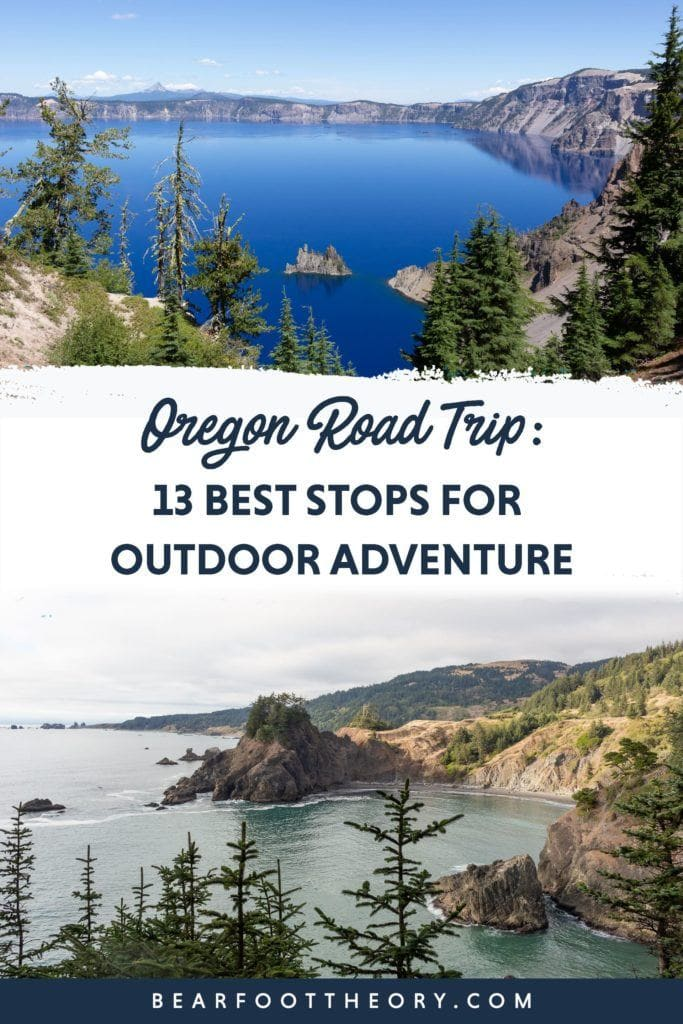 Plan your Oregon road trip with this guide to the best places to stop including mountains, beaches, National Parks, Monuments, and towns.
