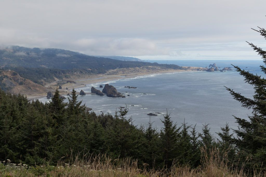 The Oregon coastline is full of beaches, coves, lighthouses, parks, and hiking trails to explore on an Oregon road trip.