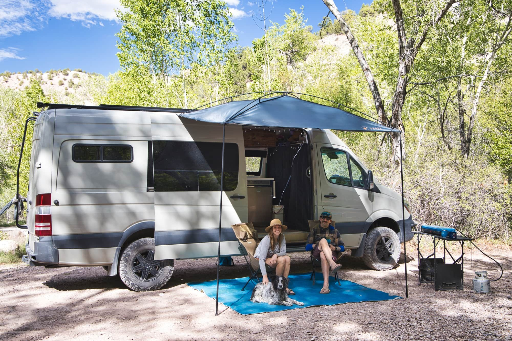 MoonShade Review: A Portable, Budget-friendly   Van Awning