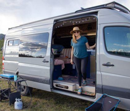 Don't let your fear of being dirty keep you inside. Here are my top camping tips for women to keep you feeling fresh & clean on the road.