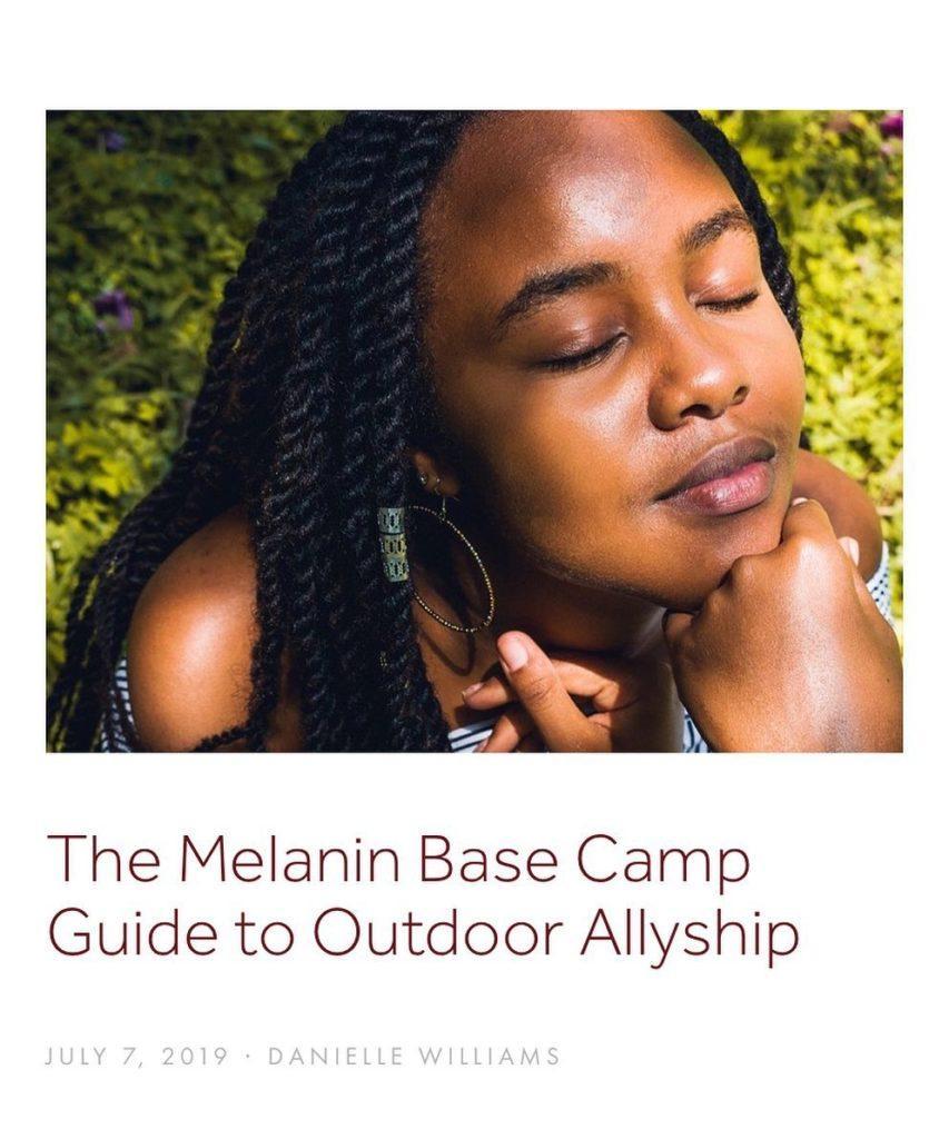 Melanin Basecamp promotes diversity in outdoor adventure sports
