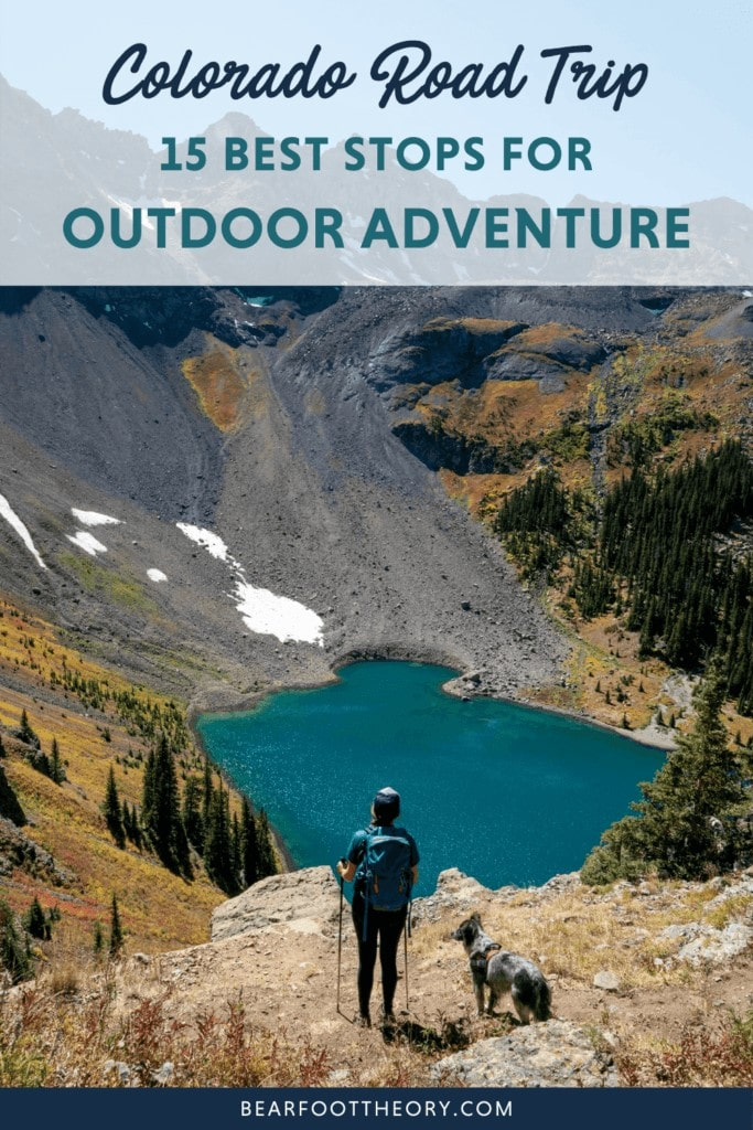 Plan your Colorado road trip with this guide to the best places to stop including mountain towns, day hikes, National Parks, and mountain bike trails.