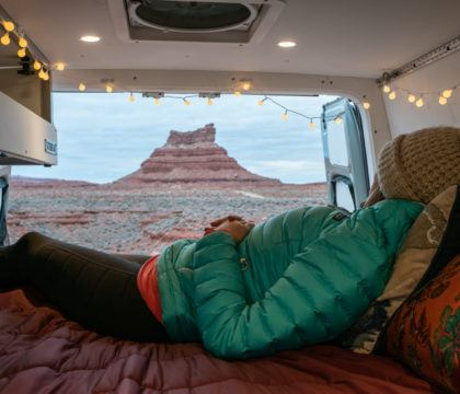 Learn how to find free places to camp for van life including all the apps and resources we use for finding campsites while on the road.