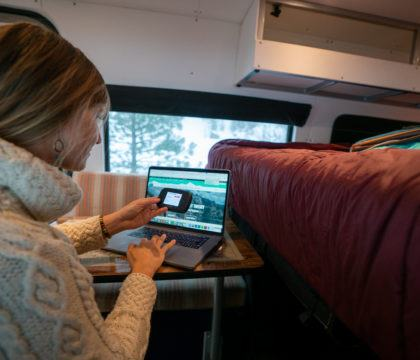 Much of van life is about getting off the grid, but sometimes we need internet access. Learn our tips for staying connected while on the road