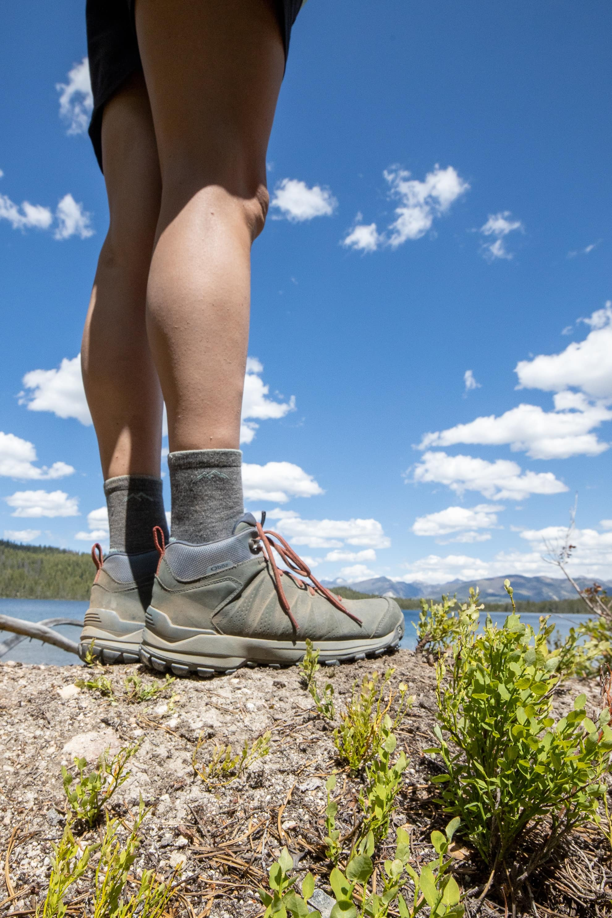 The Oboz Sypes hiking boot is a lightweight, versatile, and comfortable trail shoe with ankle support and supportive, eco-friendly insoles.