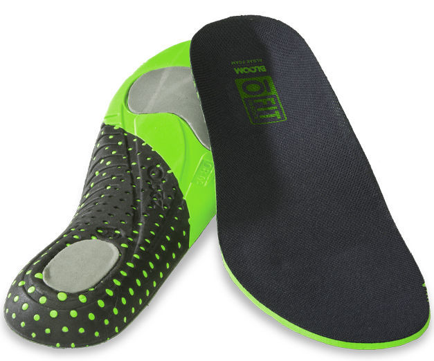 The Oboz Sypes hiking boot O Fit insoles are extremely supportive and are made from Bloom Foam which is derived from a naturally occurring sustainable harvested algae