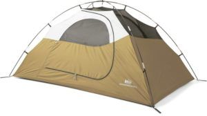 REI Co-op Groundbreaker Tent // Looking for the budget outdoor gear? Here is the best cheap backpacking gear and my top tips for buying quality, inexpensive gear.