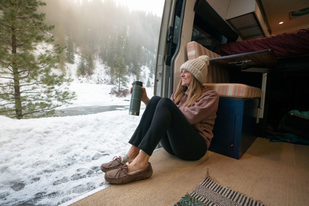 Living in a van year-round can be a great experience, but van life in the winter requires a few extra considerations. Learn about them here!