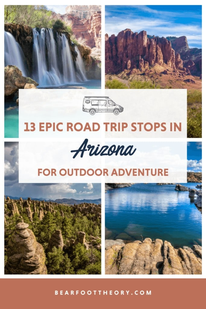 Plan your Arizona road trip with this guide to the best stops for outdoor adventure including National Parks, small towns, hikes, and more.