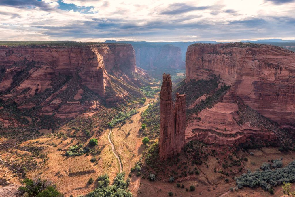 Canyon de Chelly / One of the best Arizona road trip stops for outdoor adventure.